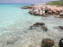Playa de Cleopatra imagen de archivo
