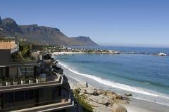 Playa de Clifton cerca de Ciudad del Cabo Foto de archivo libre de regalías