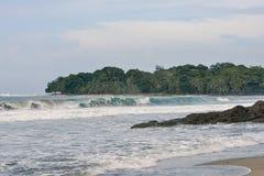 Playa de Cocles Imagen de archivo libre de regalías