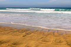 Playa de Cofete, Canary Island Fuerteventura, Spain Stock Photography
