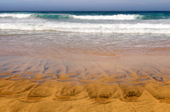 Playa de Cofete, Canary Island Fuerteventura, Spain Royalty Free Stock Photography