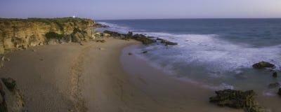 Playa de Conil en España imagen de archivo