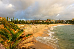 Playa de Coogee, Sydney Australia Imagenes de archivo
