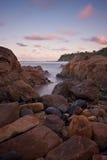 Playa de Coolum, Queensland Foto de archivo libre de regalías