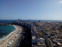 Playa de Copacabana fotos de archivo