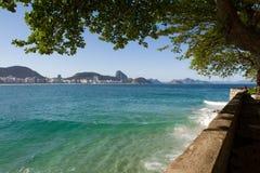 Playa de Copacabana Fotografía de archivo libre de regalías