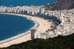 Playa de Copacabana  Foto de archivo libre de regalías