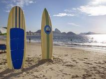 Playa de Copacabana, Rio de Janeiro Foto de archivo