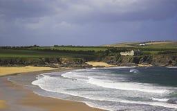 Playa de Cornualles Imagen de archivo