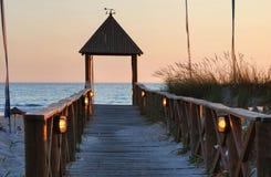 Playa de Cortadura Foto de archivo libre de regalías