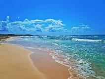 Playa de Cozumel imagenes de archivo