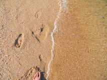 Playa de Crimea Imagenes de archivo