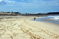 Playa de Cronulla en invierno imagen de archivo libre de regalías