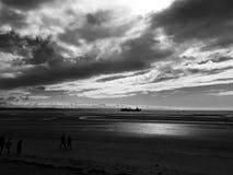 Playa de Crosby Fotos de archivo libres de regalías