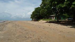 Playa de Cumuruxatiba Fotos de archivo