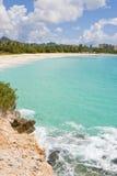Playa de Cupecoy Foto de archivo libre de regalías