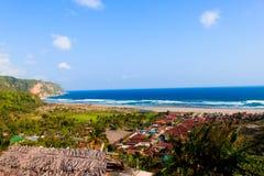 Playa de Depok Fotografía de archivo