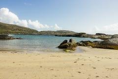 Playa de Derrynane - Irlanda fotografía de archivo libre de regalías