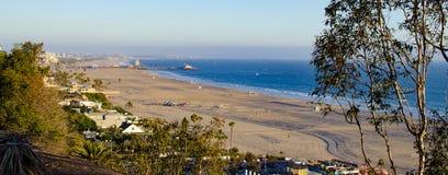 Playa de desatención de Santa Monica del parque de las palizadas Imágenes de archivo libres de regalías