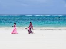 Playa de Diana con azúcar-como la arena Foto de archivo