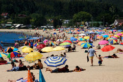 Playa de Dichato Chile Royalty Free Stock Image
