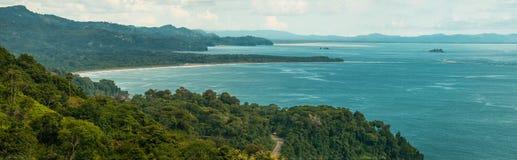 Playa de Dominicalito Foto de archivo libre de regalías