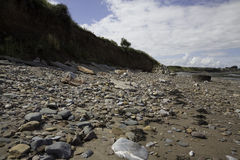Playa de Doniford, Exmoor, Reino Unido fotos de archivo libres de regalías