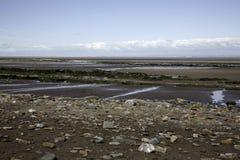 Playa de Doniford, Exmoor, Reino Unido imágenes de archivo libres de regalías