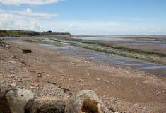 Playa de Doniford, Exmoor, Reino Unido foto de archivo libre de regalías