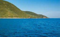 Playa de Egremni Foto de archivo