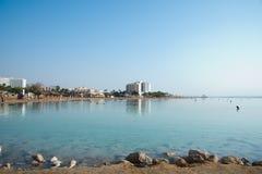 Playa de Ein Bokek Fotografía de archivo