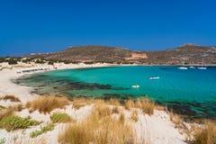 Playa de Elafonissos Fotografía de archivo