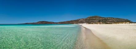 Playa de Elafonissos Fotos de archivo