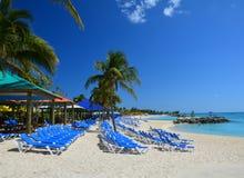 Playa de Eleuthera, Bahamas imagen de archivo
