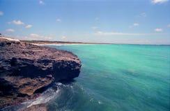 Playa de Es Trenc Foto de archivo libre de regalías
