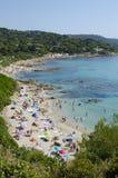 Playa de Escalet Imagen de archivo libre de regalías