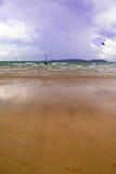 Playa de Essaouira Fotografía de archivo libre de regalías