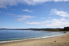 Playa de estado de Carmel River, Monterey Foto de archivo