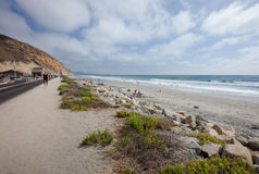 Playa de estado de los pinos de Torrey Imágenes de archivo libres de regalías