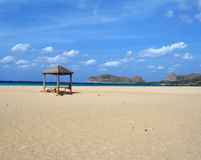 Playa de Falasarna Foto de archivo