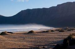 Playa De Famara Стоковые Изображения RF