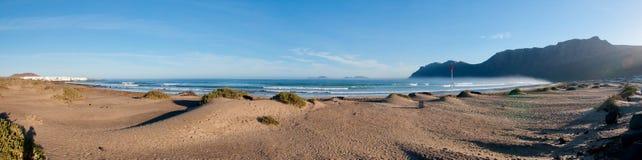 Playa De Famara Стоковые Фотографии RF