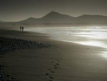 Playa de Famara Foto de archivo