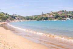 Playa de Ferradura en Buzios fotografía de archivo libre de regalías