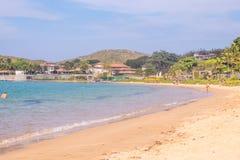 Playa de Ferradura en Buzios imagenes de archivo