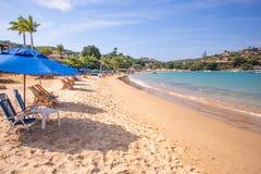 Playa de Ferradura en Buzios fotos de archivo