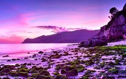 Playa de Figueinha Imagenes de archivo