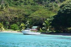 Playa de Fiji Foto de archivo libre de regalías