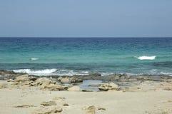 Playa de Formentera Imagenes de archivo