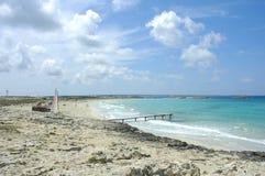 Playa de Formentera Imágenes de archivo libres de regalías